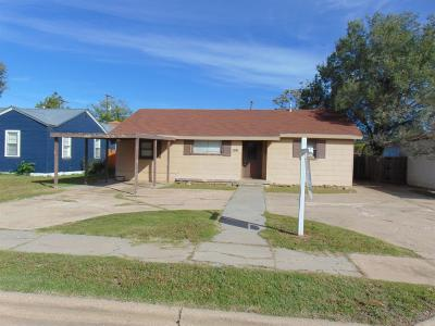Lubbock TX Single Family Home For Sale: $124,099