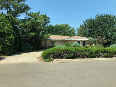 Lubbock Single Family Home Under Contract: 5403 78th Street
