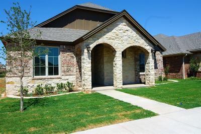Lubbock Garden Home For Sale: 11809 Troy Avenue