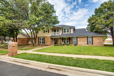 Lubbock Single Family Home For Sale: 4910 79th Street