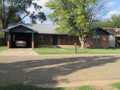 Littlefield Single Family Home For Sale: 409 E 15th