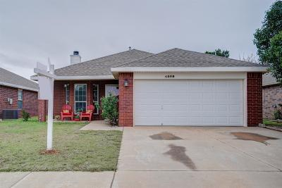 Single Family Home For Sale: 6509 87th Street