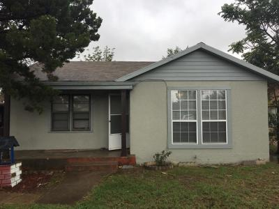 Lubbock County Single Family Home For Sale: 2723 Baylor Street