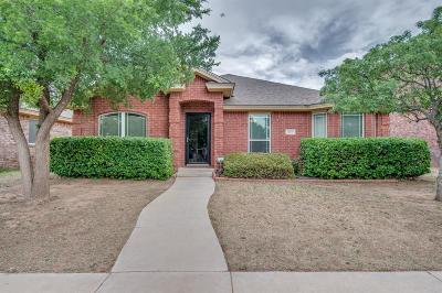 Lubbock TX Single Family Home Under Contract: $165,900