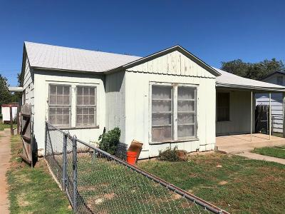 Lubbock County Single Family Home Under Contract: 1516 32nd Street