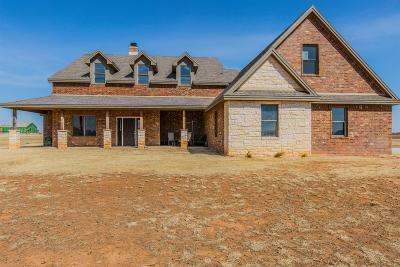 Idalou Single Family Home Under Contract: 8405 E County Road 6100