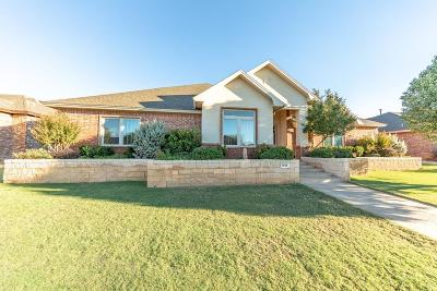 Lubbock Single Family Home Under Contract: 6024 88th Place