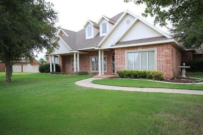 Lubbock Single Family Home For Sale: 8503 County Road 6910