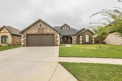 Lubbock TX Single Family Home Under Contract: $255,000
