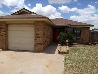 Lubbock County Single Family Home Under Contract: 8706 Ave V