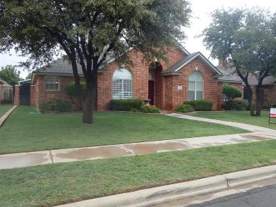 Lubbock Single Family Home For Sale: 5004 104th Street