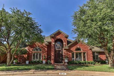 Lubbock Single Family Home Under Contract: 5107 95th Street