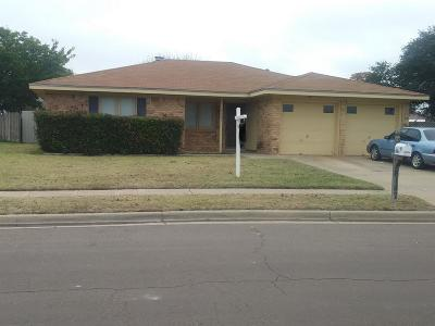 Lubbock Single Family Home For Sale: 6147 37th Street