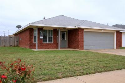 Lubbock TX Single Family Home For Sale: $124,900