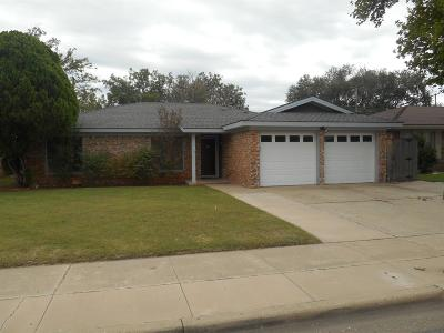 Single Family Home For Sale: 4709 62nd Street