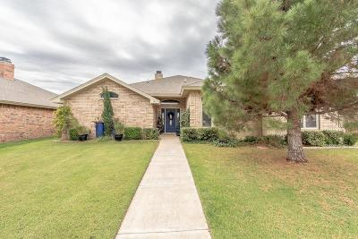 Lubbock Single Family Home For Sale: 6019 100th Street