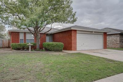 Lubbock Single Family Home For Sale: 2913 90th Street