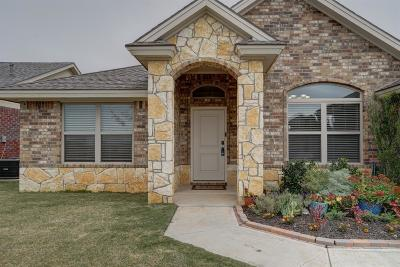 Lubbock TX Single Family Home For Sale: $254,500