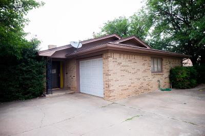 Lubbock TX Multi Family Home For Sale: $149,900