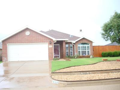 Lubbock Single Family Home For Sale: 6703 91st Place