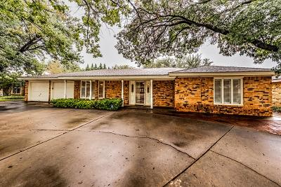 Lubbock Single Family Home For Sale: 3310 80th Street