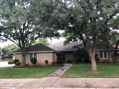 Lubbock TX Single Family Home Under Contract: $227,500