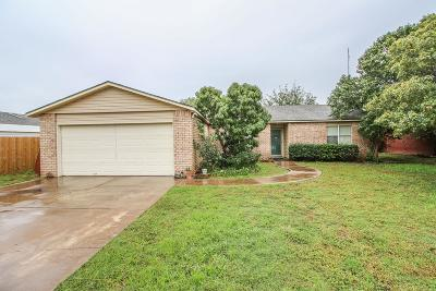 Lubbock Single Family Home For Sale: 2403 94th Street