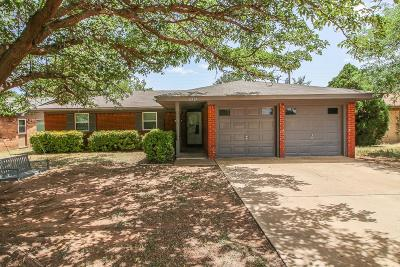 Lubbock Single Family Home Under Contract: 5517 16th Street