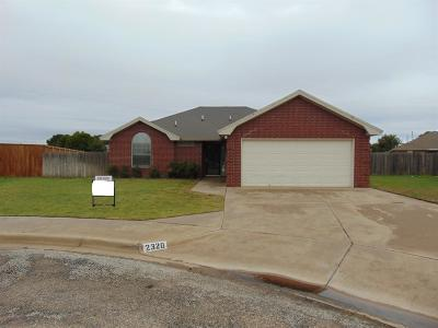 Lubbock TX Rental For Rent: $1,225