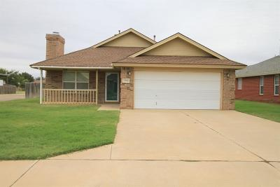 Lubbock TX Single Family Home Under Contract: $124,900