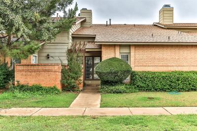 Lubbock Townhouse For Sale: 3314 79th Street
