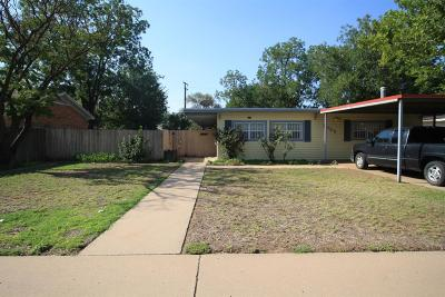 Lubbock Single Family Home For Sale: 2009 46th Street