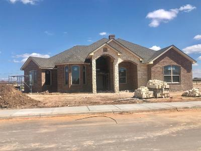Lubbock Single Family Home For Sale: 9601 Inverness