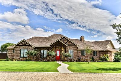 Lubbock Single Family Home For Sale: 16415 County Road 2040