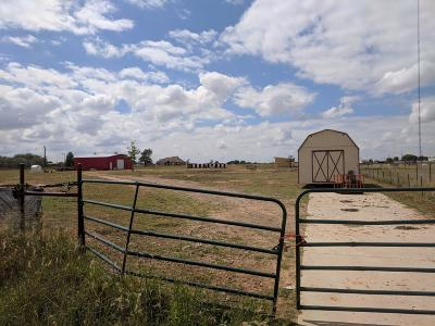 Lubbock County Residential Lots & Land Under Contract: 16814 County Road 2170