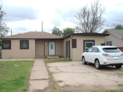 Lubbock County Single Family Home For Sale: 503 55th Street