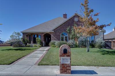 Lubbock Single Family Home For Sale: 10704 Kline Avenue