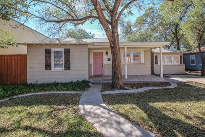 Single Family Home For Sale: 2807 26th Street