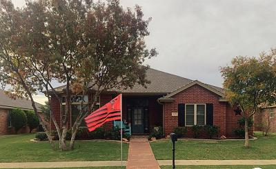 Lubbock Single Family Home For Sale: 4409 108th Street