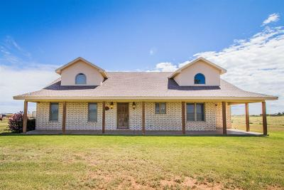 Wolfforth Single Family Home Under Contract: 17207 County Road 1440