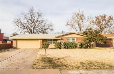 Lubbock Single Family Home Under Contract: 4312 39th Street