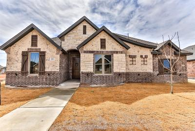 Lubbock Single Family Home For Sale: 5311 110th