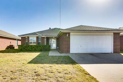 Lubbock Single Family Home For Sale: 1805 80th Street