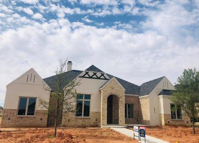 Lubbock Single Family Home For Sale: 3813 137th