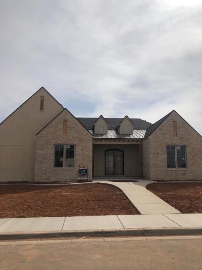 Lubbock Single Family Home For Sale: 3817 137th