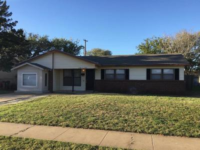 Lubbock County Single Family Home For Sale: 2617 E Bates Street