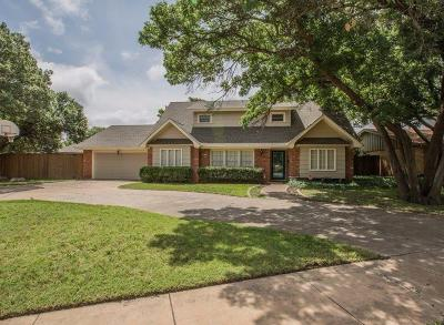 Lubbock Single Family Home Under Contract: 6401 Joliet Avenue
