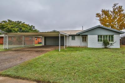 Shallowater Single Family Home For Sale: 1205 9th Street