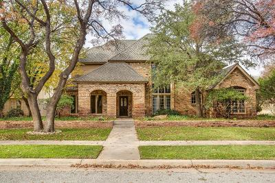 Lubbock TX Single Family Home For Sale: $395,000