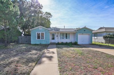 Lubbock County Single Family Home For Sale: 2315 35th Street